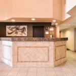 front desk and lobby of Best Western Executive Inn & Suites